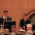 Detalle percusión y trompetas