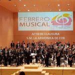 Acto Clausura Febrero Musical XXVI