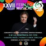Clausura XXVII Febrero Musical Cox